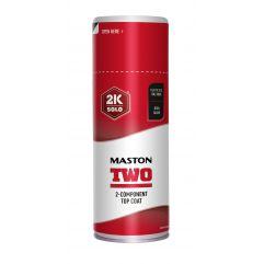 MASTON SPRAY TWO 2K RAL 3020 traffic red 400ml