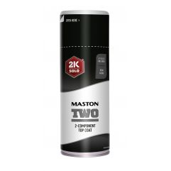 MASTON SPRAY TWO 2K RAL 9005 SJAJNI jet black 400ml