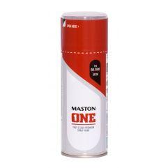 MASTON SPRAY ONE RAL 3020 Red satin 400ml