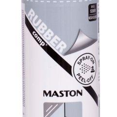 MASTON SPRAY RUBBERcomp Silver Wheel High Gloss 400ml