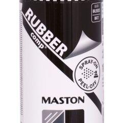 MASTON SPRAY RUBBERcomp Black matt 400ml