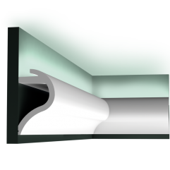 C364 WAVE ORAC LUXXUS indirect lighting 200 x 14 x 8