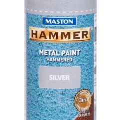 MASTON SPRAY Hammer Silver 400ml