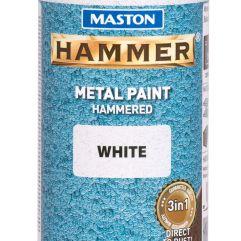 MASTON SPRAY Hammer White 400ml