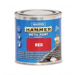 MASTON Hammer smooth Red 250ml