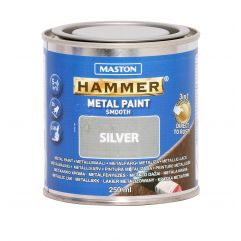 MASTON Hammer smooth Silver 250ml