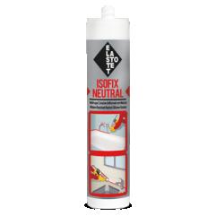 ELASTOTET SILIKON ISOFIX NEUTRAL 280ml sa fungicidom za sanitarije bijeli, bez mirisa