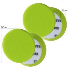 MENZERNA PREMIUM FOAM PAD - 95mm soft cut - green/zelena