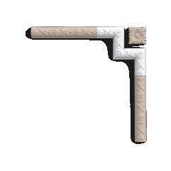 P201A ORAC LUXXUS corner for P2020 19,5 x 2,6 x 19,5