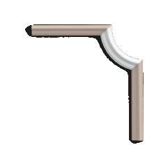 P8030C ORAC LUXXUS corner for P8030 19 x 1,7 x 8,6