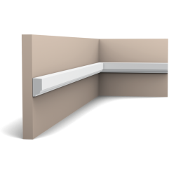 P9050F ORAC LUXXUS flexible panel moulding 200 x 2,5 x 1,3