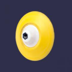 MENZERNA PREMIUM BACKING PAD 150mm - yellow