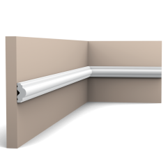 PX103F ORAC AXXENT flex panel moulding 200 x 2,5 x 1,2
