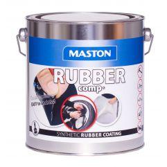 MASTON RUBBERcomp Black semigloss 3 lit