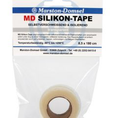 MD SILIKON TAPE TRANSPARENT 1,8m
