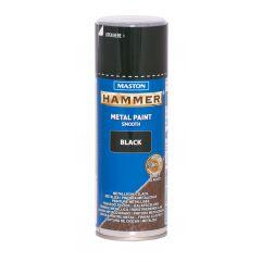 MASTON SPRAY Hammer smooth Black 400ml