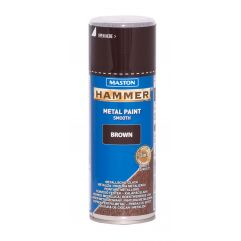 MASTON SPRAY Hammer smooth Brown 400ml