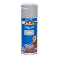 MASTON SPRAY Hammer smooth Silver 400ml