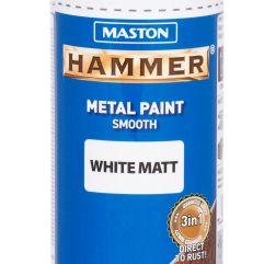 MASTON SPRAY Hammer smooth White matt 400ml