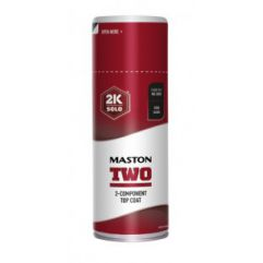 MASTON SPRAY TWO 2K RAL 3000 flame red 400ml