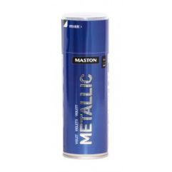 MASTON SPRAY METALLIC Violet 400ml