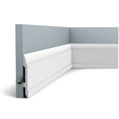 SX104F ORAC LUXXUS flexible skirting 200 x 14.8 x 1,7