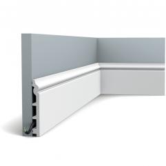 SX118 ORAC LUXXUS skirting 200 x 13,8 x 1,8
