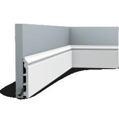 SX118F ORAC LUXXUS flexible skirting 200 x 13,8 x 1,8