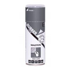 MASTON SPRAY RUBBERcomp Grey Gun Metal Satin 400ml