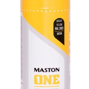 MASTON SPRAY ONE RAL 1021 Bright Yellow satin 400ml