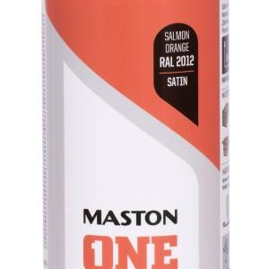 MASTON SPRAY ONE RAL 2012 Orange Salmon satin 400ml