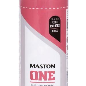 MASTON SPRAY ONE RAL 4003 Violet Heather Gloss 400ml