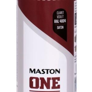 MASTON SPRAY ONE RAL 4004 Violet Claret Satin 400ml