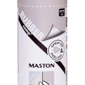 MASTON SPRAY RUBBERcomp Smoke grey polumat 400ml