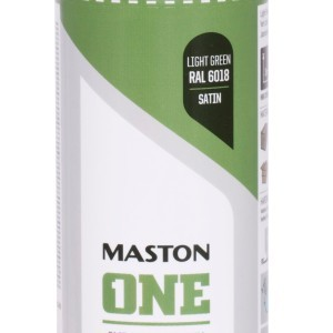 MASTON SPRAY ONE RAL 6018 Light Green satin 400ml