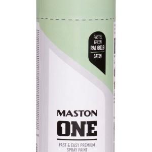 MASTON SPRAY ONE RAL 6019 Green satin 400ml