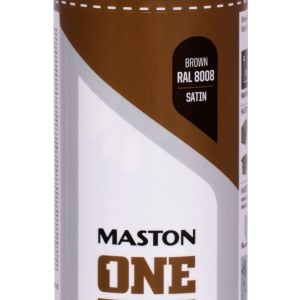 MASTON SPRAY ONE RAL 8008 Brown Satin 400ml