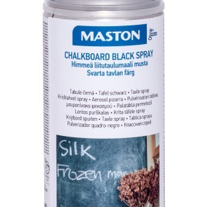 MASTON SPRAY Chalkboard Black Ral 9005 Matt 400ml