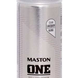 MASTON SPRAY ONE Lacquer High Gloss 400ml