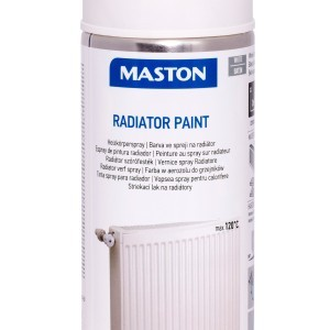 MASTON SPRAY RADIATOR white satin 400ml