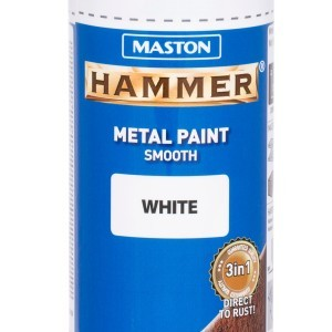 MASTON SPRAY Hammer smooth White 400ml